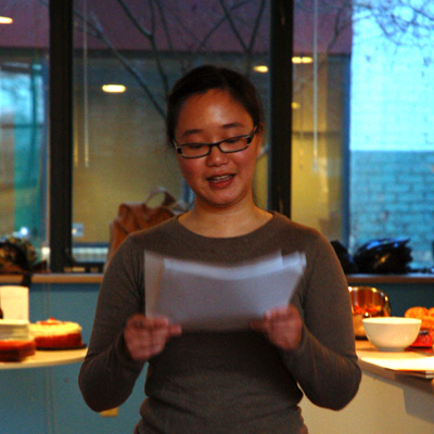 Lily Hoang reads from her forthcoming collection UNFINISHED