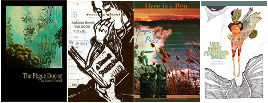 Examples of Cover Art from Achiote Press