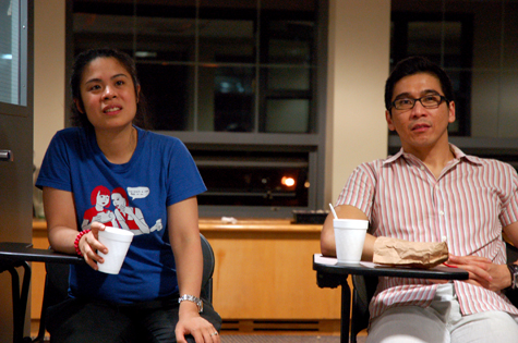 Sarah Gambito and Joseph Legaspi, Kundiman Founders
